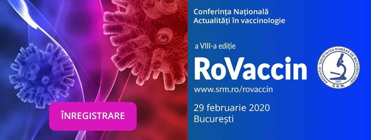 A VIII-a Conferință Națională RoVaccin