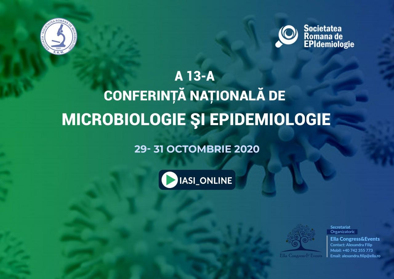 A XIII-a Conferință Națională de Microbiologie și Epidemiologie